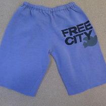 Free City Fleece Sweat Shorts Lavender Size Large Gently Worn Photo
