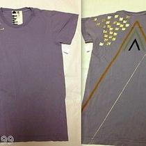 Free City Limited Ed. T-Shirt in Music in Love Purple Gold Dove Piano Small New Photo