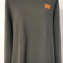 Free City Olive Green With Orange Logo Sweater Size Small  Photo