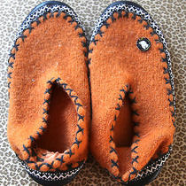 Free City Rare Shoes Euro 38 Orange Gently Worn Photo