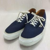 Free City  Us9 Nvy Men's Logo Size Us9 Navy Low Cut Sneaker 3954 From Japan Photo