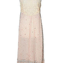 Free People Blush Sequins Jumpsuit Photo