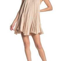 Free People Catching Rays Halter Mini Dress. Pebble/beige. Large Photo