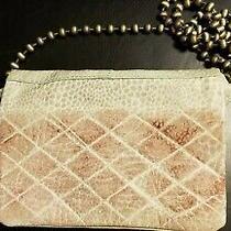Free People Duet Crossbody Goat Leather Small Ombre Gray Clutch Purse Chain Boho Photo