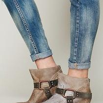 Free People (Freebird by Steven) Quartz Ankle Boot Size 8 Grey/tan  Photo