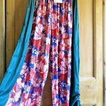 Free People Intimately in Bloom Lounge Pants Trousers Sz Xs Uk 6 8 10 Sample Photo