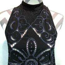 Free People Intimately Marsha Crochet Mock Neck Floral Swing Slip Dress Xs Hhh7 Photo