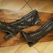 Free People Jeffrey Campbell Boots Leather  Photo