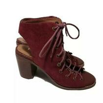 Free People Jeffrey Campbell Minimal Lace Up Heels Open Toe Sandals Size 8  Photo