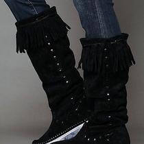 Free People Jeffrey Campbell Sierra Moccasin Sneaker Boots Size 7.5 Photo