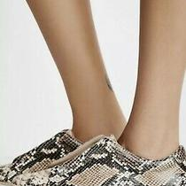 Free People Mage Sneaker Platform Leather Reptile Size 8 Photo