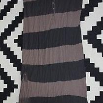 Free People Marakesh Dress Striped Black/brown Xs/s Photo