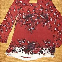 Free People. Modern Chinoise Dress. Nwt Color Is Merlot. Size Small Photo