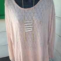 Free People New Romantics Oh My Blush Dear Gorgeous Tunic Top Med Photo