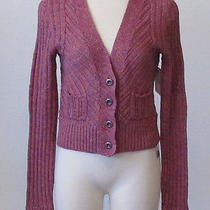 Free People Pink Sunset Cardigan - Size Medium - New With Tags Photo
