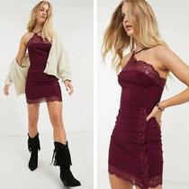Free People Premonitions Bodycon Dress Vetiver Bloom New 88 Women Size Small Photo