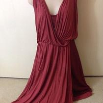 Free People Red Elanore Mini Wrap Dress 118 Sz S-M Tuscan Red Grecian Goddess Photo