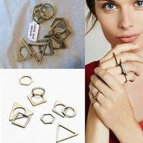 Free People Stack Gold Rings Multiple Lot Jewelry Boho Urban Outfitter Photo