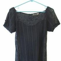 Free People Stretchy Lace Top - Size M Boho Photo