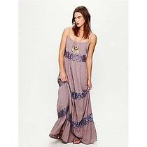 Free People Tiered Tulle Slip Dress Size Small Photo