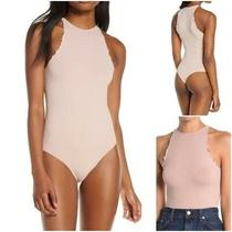 Free People Woman's Lrg Intimately Free Blush Feels Right Bodysuit New With Tags Photo