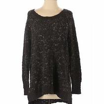 Free People Women Black Pullover Sweater S Photo
