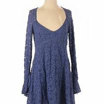 Free People Women Blue Cocktail Dress S Photo