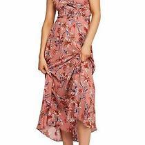 Free People Women's Dress Blush Pink Size Xs Maxi Smock Halter Midi 108 524 Photo