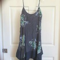 Free People Women's  Faded Bloom Mini Dress Black Combo Size Xs Nwt Photo