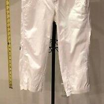 Free People Women's Girl's Pants Size 2 White Photo