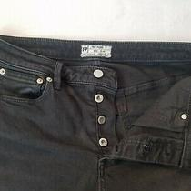Free People Womens Size 30 Inseam 29 Black Stretch Skinny Jeans 61855-16515125 Photo