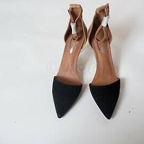 Free People X Jeffrey Campbell Black and Tan Heels Size 8 New Photo