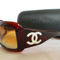 Free Ship Chanel Brown Mother of Pearl 5076-H Sunglasses  Photo