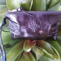 Free Ship Simply Vera Vera Wang Metallic Clutch Wristlet/purse Photo