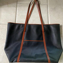 Free Shipping Bottega Veneta Black Leather Shoulder Tote Bag Vintage Photo