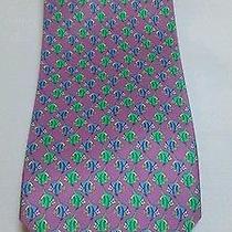 Free Shipping   Bvlgari Tie With Fish Designs Photo