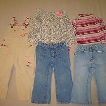 Free Shipping Girls Clothing Lot 2t Gap Shirt Jeans Corduroy Overalls Outfits Photo