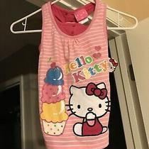 Free Shipping  Hello Kitty by Sanrio Cotton Poly Spandex Top - Size 6x Photo