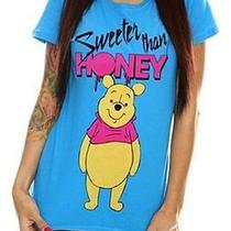 Free Us Ship Sz Xl Winnie the Pooh Bear Sweeter Than Honey T-Shirt Hot Topic Nwt Photo