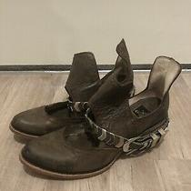 Freebird by Steven Booties Blade Size 9 Boots Leather Boho Steve Madden Photo