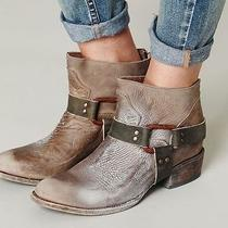 Freebird by Steven Quartz Grey Ankle Boot Free People 10 Photo