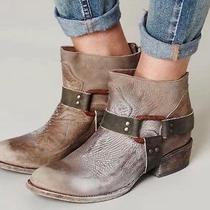 Freebird by Steven Quartz Grey Ankle Boot Free People 7 Photo