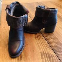 Freebird by Steven Shena Womens Size 8 Leather Brown Ankle Boots Free Shipping Photo