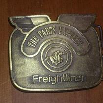Freightliner Brass Belt Buckle the Parts Express Photo