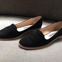 French Connection Black Colour Flats Us Size 10 - European 40 Leather  Photo