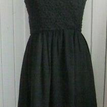 French Connection Black Dress Uk 8 (10)  Photo