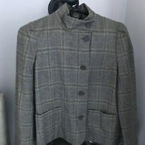 French Connection Blazer Size 8 Browns With Pale Green Accent Photo