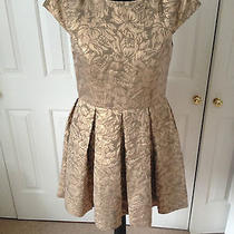 French Connection Blousy Bloom Jacquard Dress Uk 12 Brand New Photo