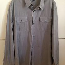 French Connection Blue Long Sleeve Dress Shirt Size Xl X-Large Photo