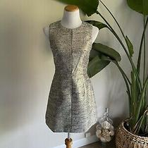 French Connection Blue/silver Dress Sz 6 Photo
